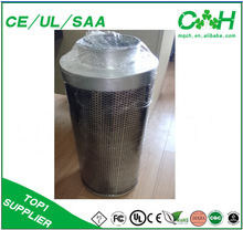 """Active Carbon Filter for Green House/4"""" 6"""" 8"""" 10"""" 12"""" Activated Carbon fiber air filter/Ventilation system carbon air filter"""