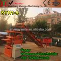 Nuevo syn1-5 automático hidráulico de lego de ladrillo que hace la máquina, de enclavamiento de ladrillo precio de la máquina, el suelo de arcilla lego bloque de la máquina
