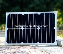 hot sell Sunpower solar panel for adventure power supply