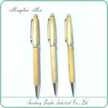 Hot promotional handmade wooden pen for gift