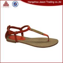Best selling durable using ladies sandals pu sole