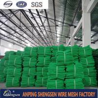 Green hdpe nylon construction scaffolding safety net