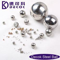 Stainless steel ball factory SS steel sphere hose bead fittings