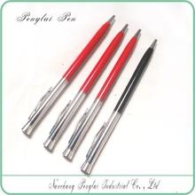 2015 High quality new design slim metal ball pen,popular slim cross metal pen