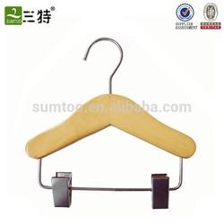 Wooden small clip hanger