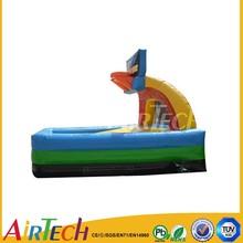 Hot commercial basketball Hero Hoops,portable inflatable basketball pitch,inflatable games for adults