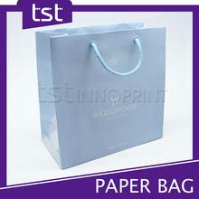Promotional Custom Logo Printing Foldable Paper Shopping Bag