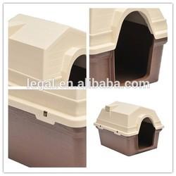 LPP-001L plastic dog kennel/direct factory wholesale beautiful custom pet house