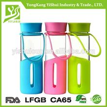New arirval 100% BPA free glass travel mug