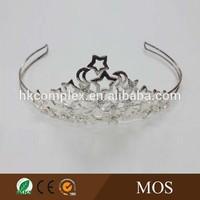Star design Rhinestone crystal pageant crowns birthday crowns