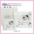 H&b 10*10'' libros de fotos digital del libro de recuerdos de moda bebé álbum de fotos