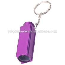 Promotional Square LED Flashlight Keychain