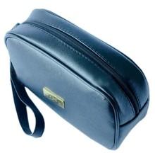 promotion unisex PU purse wristlet , zip cosmetic bag supplier