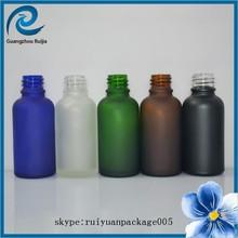 cobalt blue glass bottles / essential oil bottle/ e liquid glass bottle 30ml