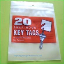 HDPE christmas tree logo printed zip lock bag