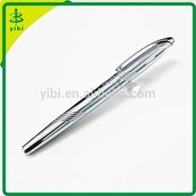 JD-LF37 Custom logo Silver Luxury metal ballpoint pen factory