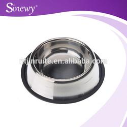 Dog food bowl Novelty Stainless steel dog food bowlHot Sale Dog Feeder Pet Bowl