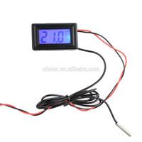 low/high temperature Digital Display Thermometer, digital car Temperature Gauge