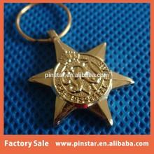 2015 hot new products alibaba china wholesale high quality metal custom anniversary name keychain