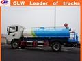 Nueva condición de rociadores de agua camión cisterna 4 * 2 agua camión cisterna 10 cbm transporte de agua de camiones Dongfeng