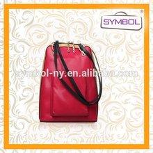 Popular hot selling leather backpack camera bag