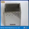 Hoja de metal el desarrollo de la industria de componentes electrónicos. Hoja de metal de trabajo. Hoja de productos de metal