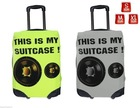 Modern Style Luggage Cover Secure AntiScratch Suitcase Baggage Protector 3 Sizes