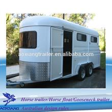 solid fiberglass roof Horse Trailer