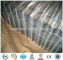 0.41mm galvanized corrugated metal roof panel 900mm/Aluminum corrugated roof sheet YX18-76-836