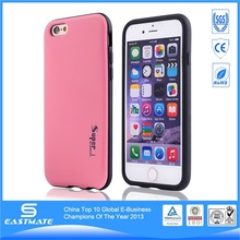 soft Gel skin back cover Case pu leather case for apple iphone 6 wire drawing case