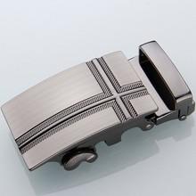 Wholedsale Man Automatic Genuine Leather Belt Adjust Belt Buckle