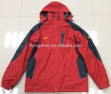 Men Winter Waterproof Padding Jacket two side wear