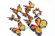 Decorative 3D wedding favors paper butterflies wholesale