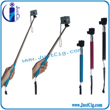 Bluetooth Selfie Stick Pod w/ large clip & remote control JustCig factory