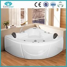 150x150 safety toughened glass comfortable massage bathtub