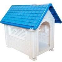 LP-004 Luxury Outdoor plastic pet kennel/Contemporary professional pet house for dogs/plastic pet house