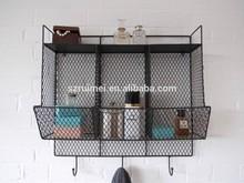Bathroom/Kitchen Metal Wire Wall Rack Shelving Display Shelf