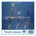 produtos vidreiros de laboratório funis