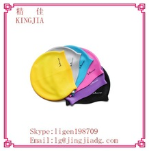 waterproof silicone swimming cap