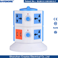 de alta calidad de la torre toma de corriente eléctrica inteligente tipos toma de corriente eléctrica