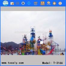 water entertainment ,fiberglass water park slides for sale