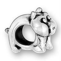 Most popular stylish owl shaped silver charm