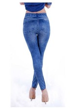 new arrival europe women hole elasticity jeans denim innovative brand jeans men