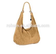 Women Suede Leather Handbag Bag Manufacturer
