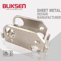 Electroless nickel Stainless Steel Lower Latch Sheet Metal Bracket Parts