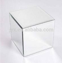 Acrylic mirror display cubes