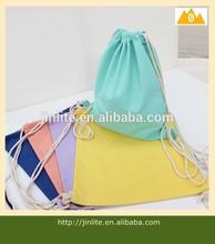 wholesale canvas drawstring backpack
