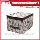 210D oxford polyester Living room houseware box bin wholesaling square new design camera storage box