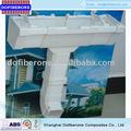 fournisseur de la chine de haute qualité du système de drainage de toit pvc pluie gouttière fournisseur