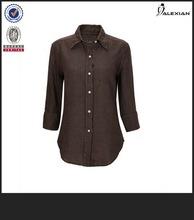 models necks to lady blouses